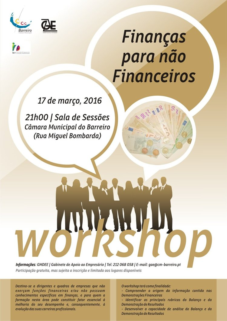 Cartaz worshop finan as 1 750 2500